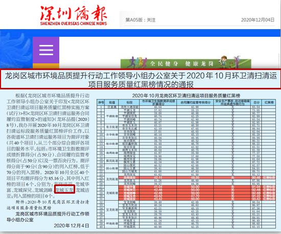 1204深圳侨报报道-玉龙环保