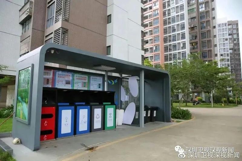 """深圳垃圾""""强制分类""""一周年6"""