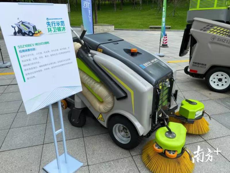 5机器代替人的清扫模式-玉龙环保