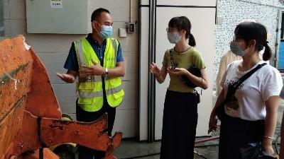 玉龙环保-新员工项目现场学习