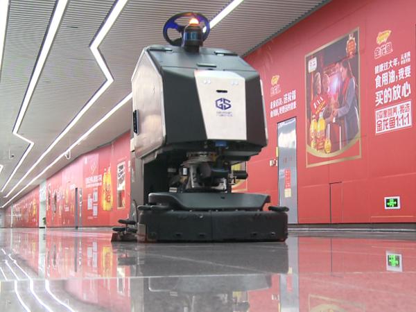 玉龙环保-物业保洁机器人