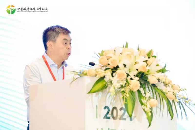 中环协副会长王敬民