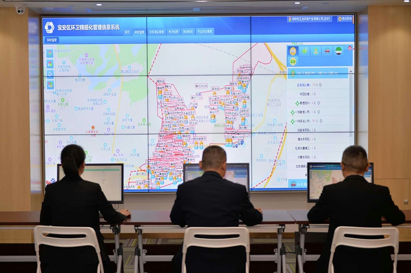玉龙环保-市政运营管理图