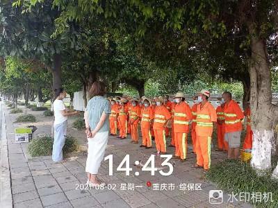 重庆高新区镇街城乡环境卫生及园林绿化一体化管护服务项目