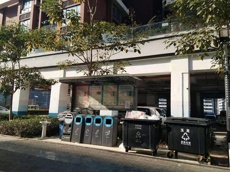 大型社区垃圾分类-玉龙环保2