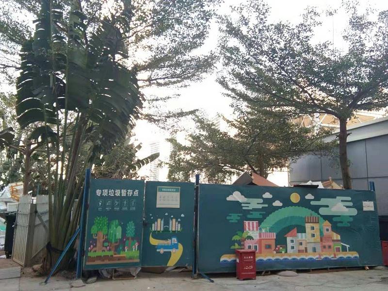 大型社区垃圾分类-玉龙环保6