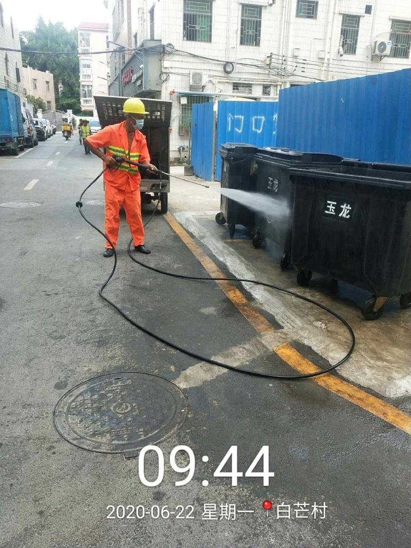 环卫垃圾桶清洁-玉龙环保