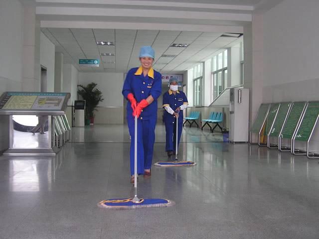 医院保洁-玉龙环保