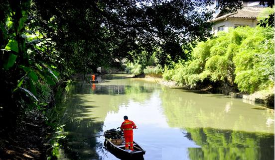 河道保洁-玉龙环保