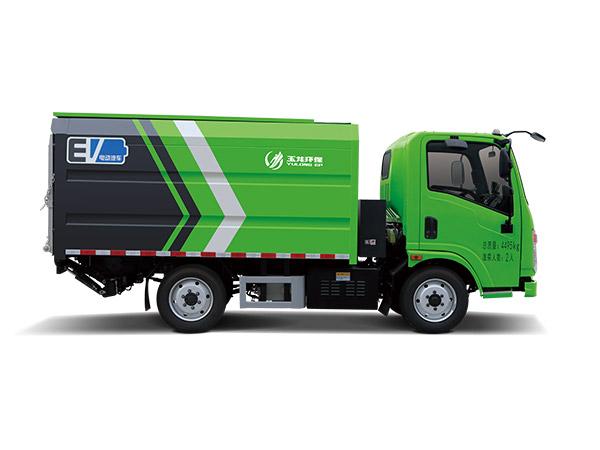 玉龙环保-密闭式垃圾桶转运车