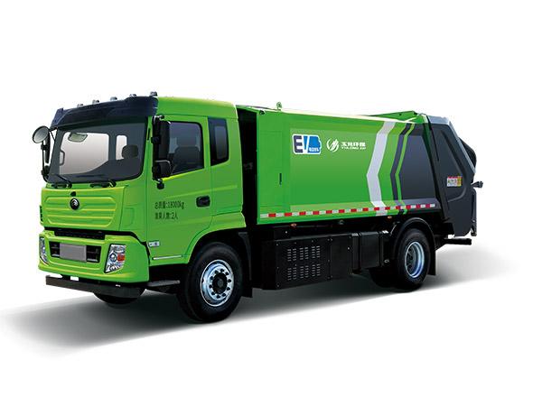 玉龙环保-压缩式垃圾车