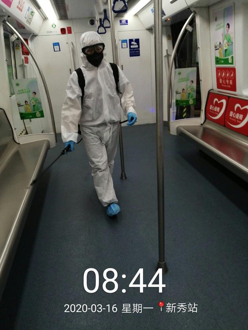 地铁及四大枢纽的消毒服务-玉龙环保
