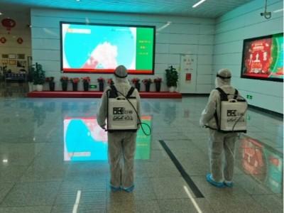 深圳地铁1、2、3、5、7、9、11号线折返站、四大枢纽的消毒服务