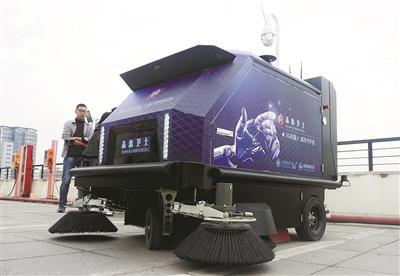 AI功能摄像头的扫地机器人-玉龙环保
