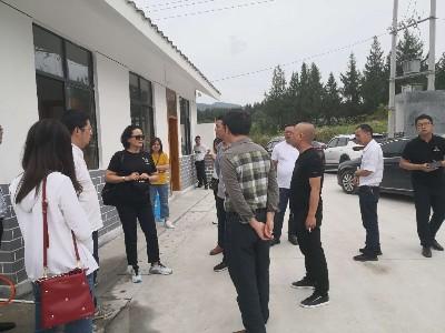 贵州省生态环境厅等领导到玉龙环保思南县城乡生活垃圾收运项目考察