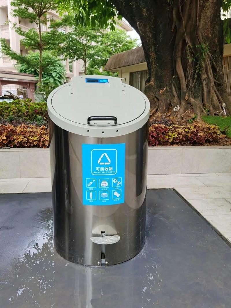 地埋式垃圾分类桶-玉龙环保