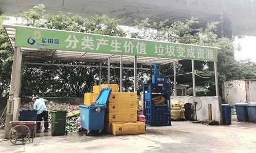 深圳垃圾分类-玉龙环保2